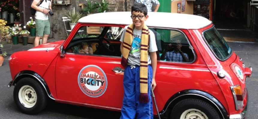 Harry Potter Film Locations Tour in a Mini Cooper-4