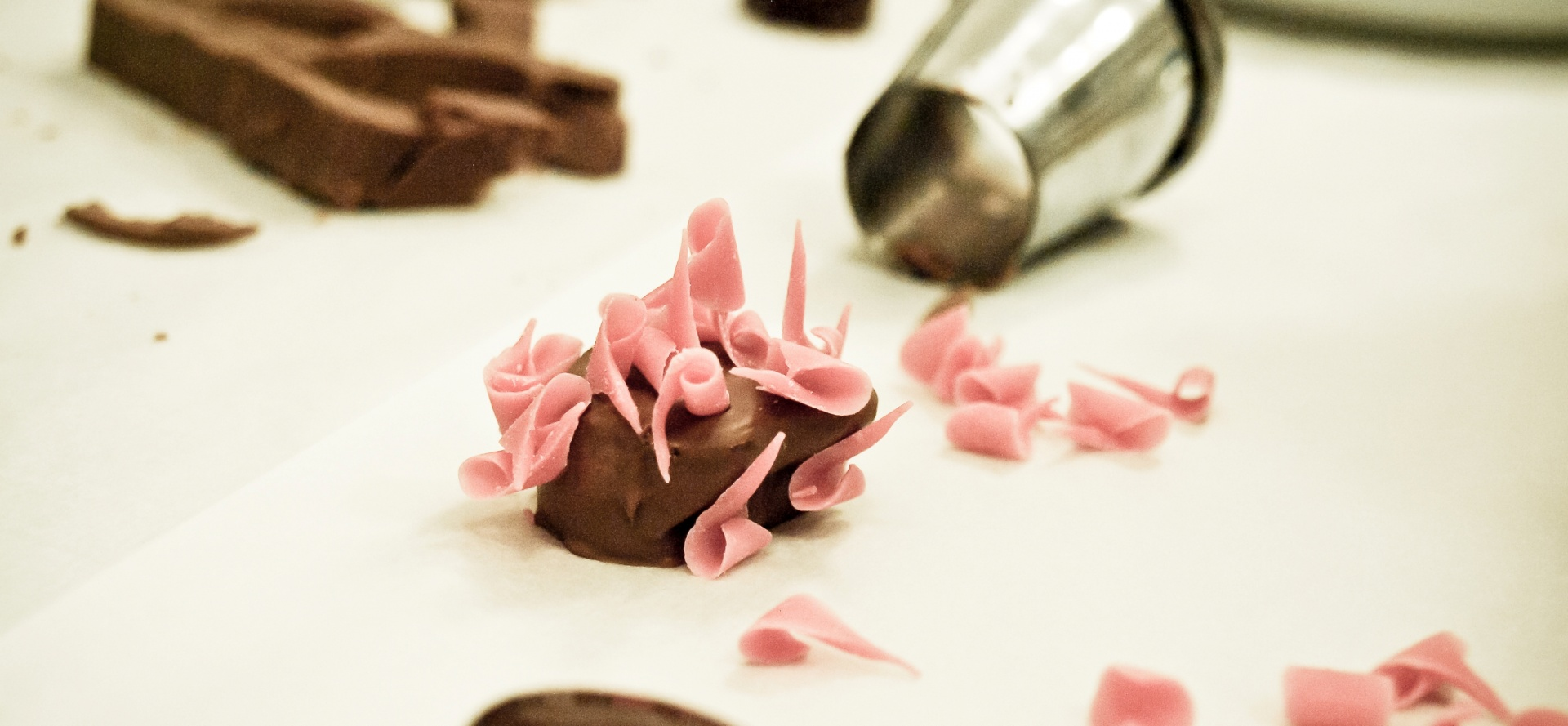 Luxury London Chocolate Making Workshop-3