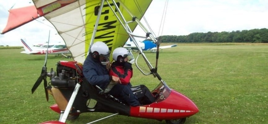 One Hour Microlight Experience in South Yorkshire-3