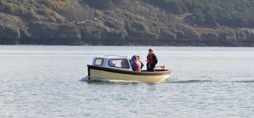Half Day Motorboat Hire for Six People in Cornwall-3