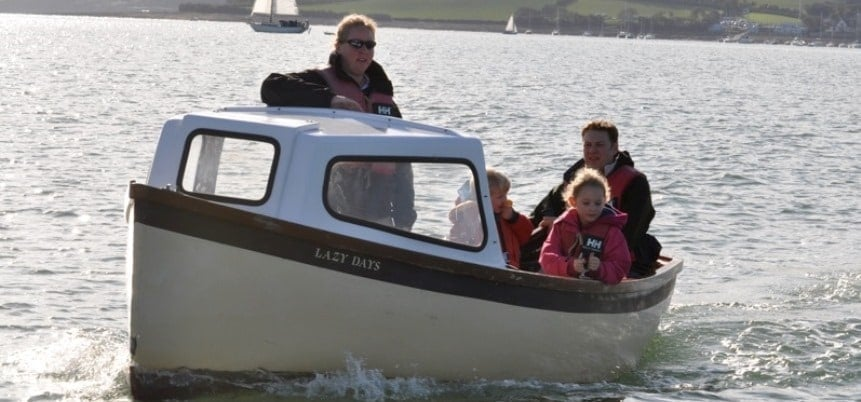 Half Day Motorboat Hire for Six People in Cornwall-2