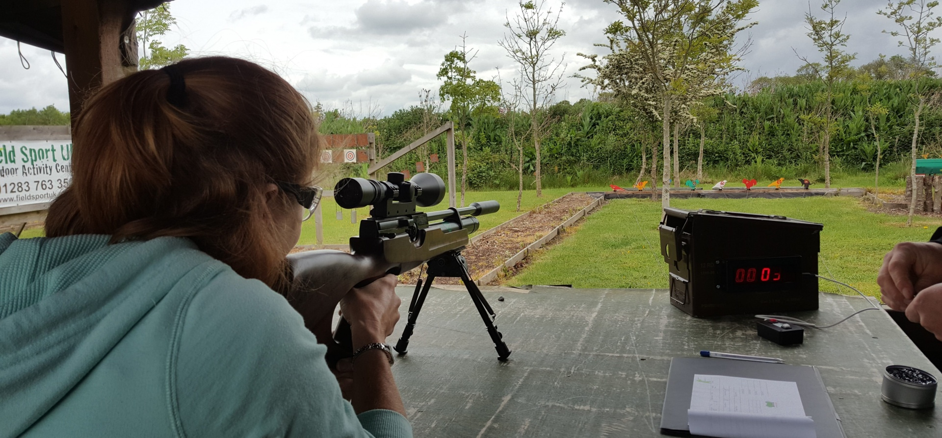 Moving Target Shooting For Two in Leicestershire-2