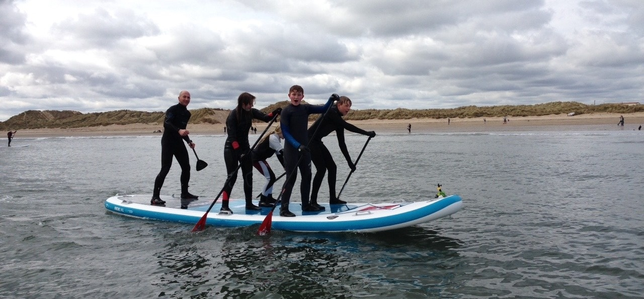 Stand Up Paddleboarding Lesson - Northumberland-5