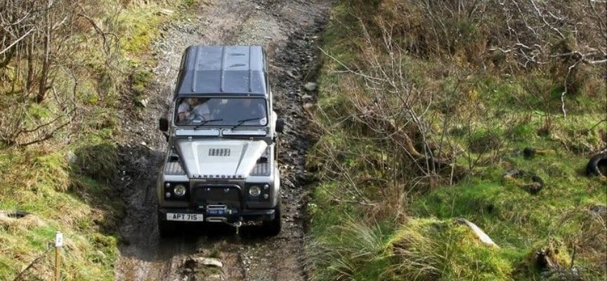 Advanced 4x4 Driving Experience - Argyll-2