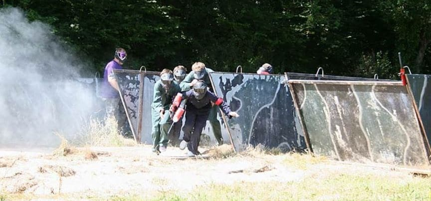 400 Ball Paintballing Experience in Cornwall-2