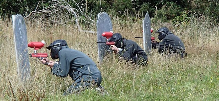 400 Ball Paintballing Experience in Cornwall-4