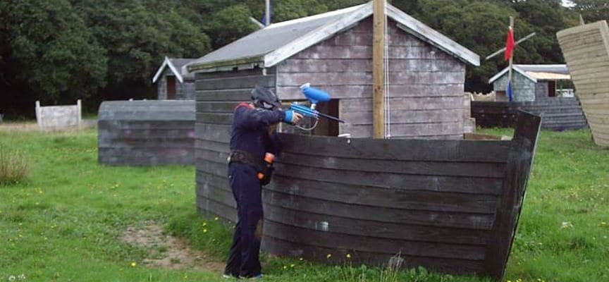 400 Ball Paintballing Experience in Cornwall-3