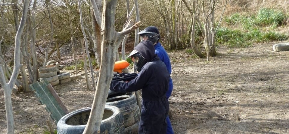 Paintballing + 100 Balls - East Sussex-2