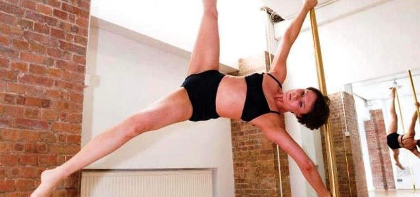 London Discover Pole Dancing Lesson-3