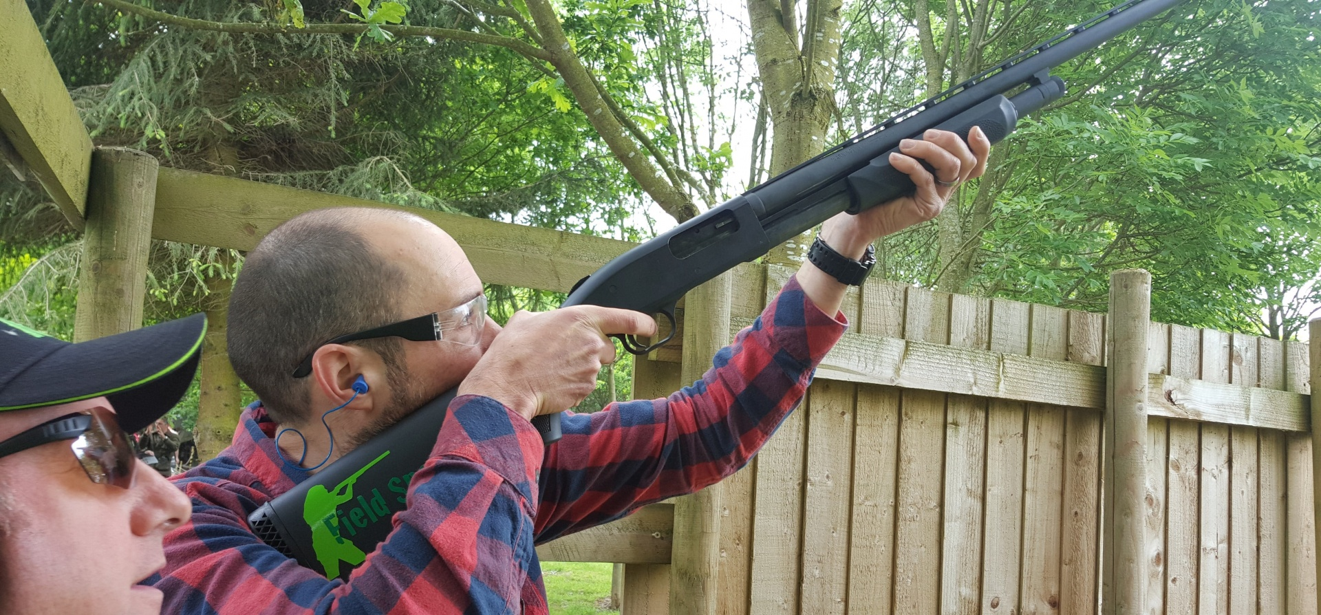 Pump Action Shotgun Experience Leicestershire-4