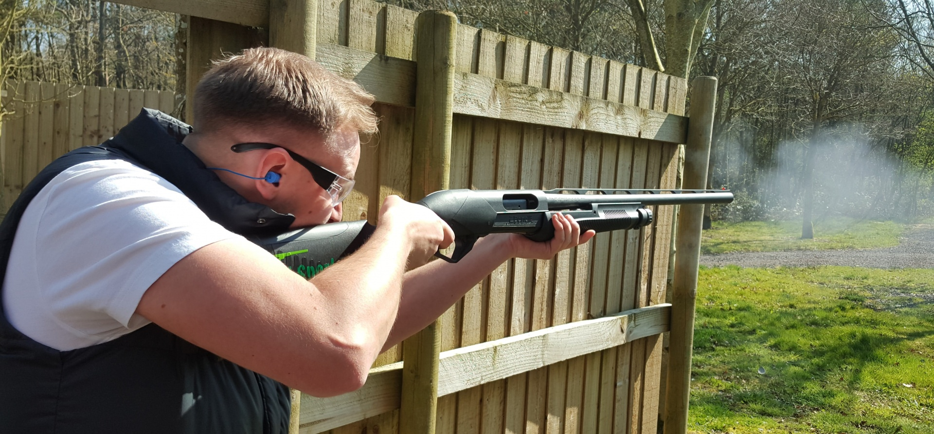 Pump Action Shotgun Experience Leicestershire-2