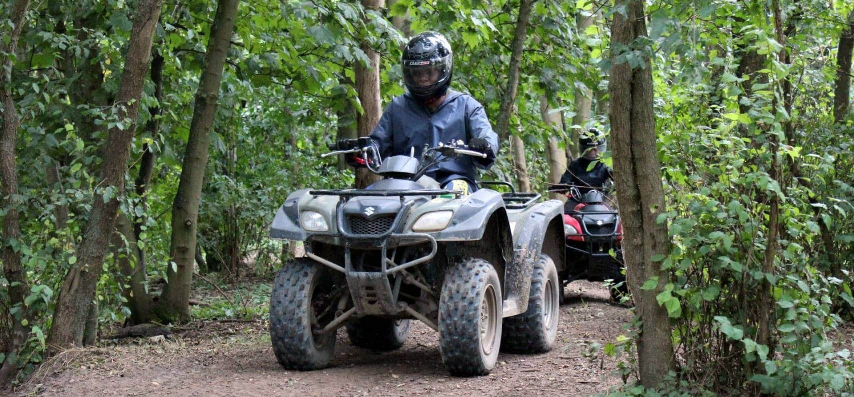 Quad Bike Trek In Suffolk-1