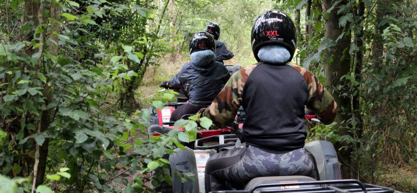 Quad Bike Trek In Suffolk-2
