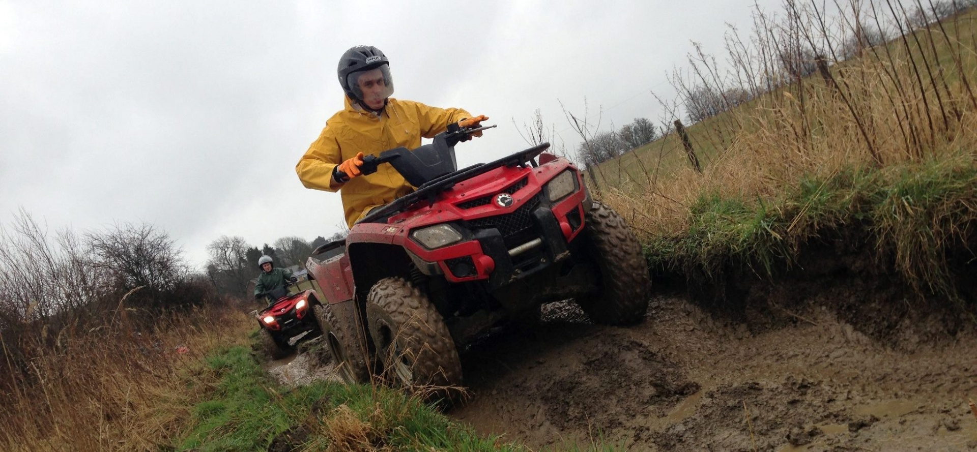 2 Hour Quad Biking Trek North Yorkshire-4