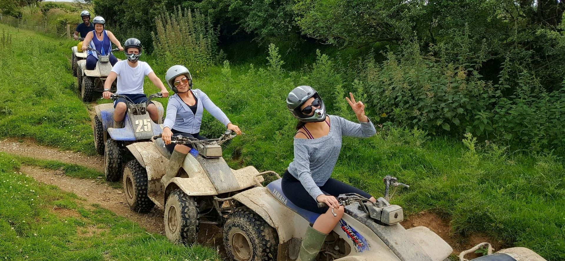 75 Minute Quad Biking Experience - Devon-1
