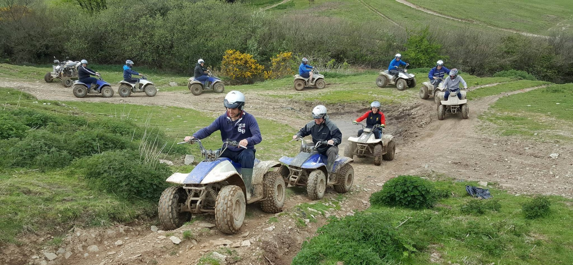 75 Minute Quad Biking Experience - Devon-4