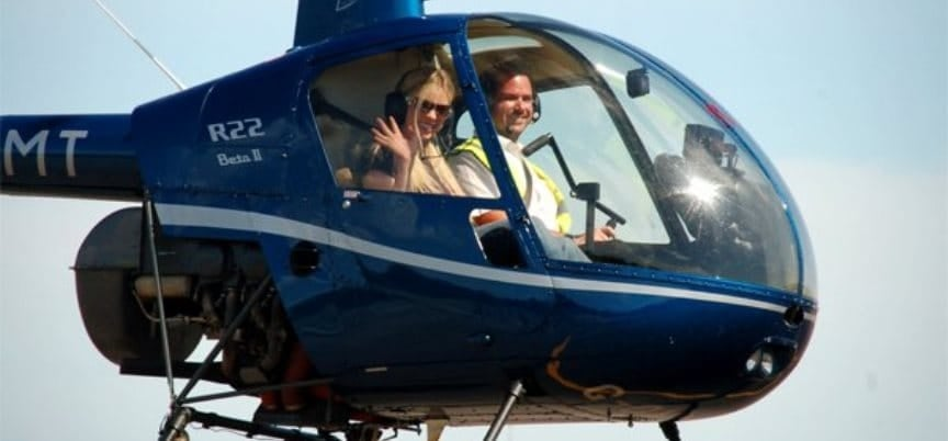 60 Minute R22 Helicopter Flying Lesson Kent-1