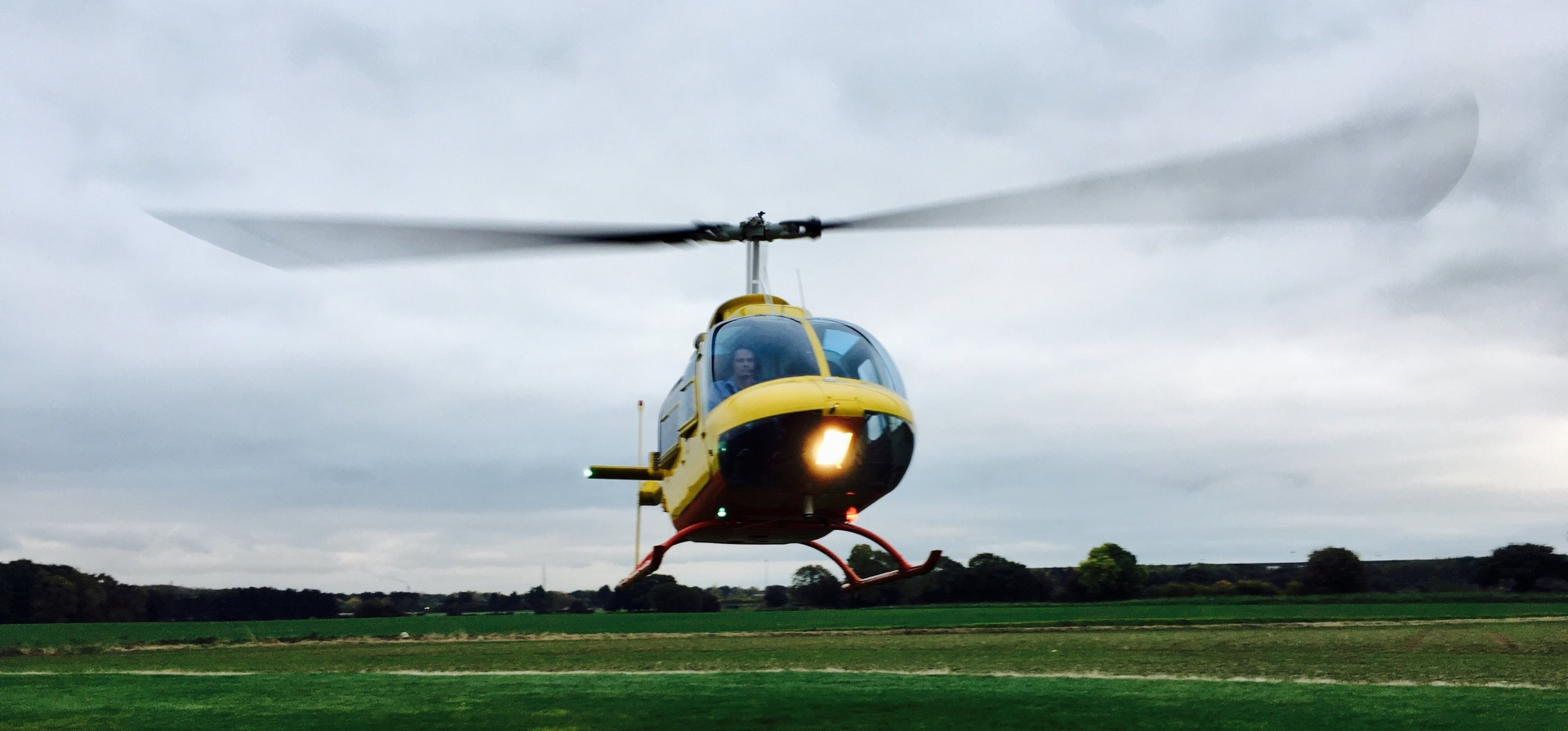 One Hour R44 Helicopter Trial Flight in Yorkshire-2