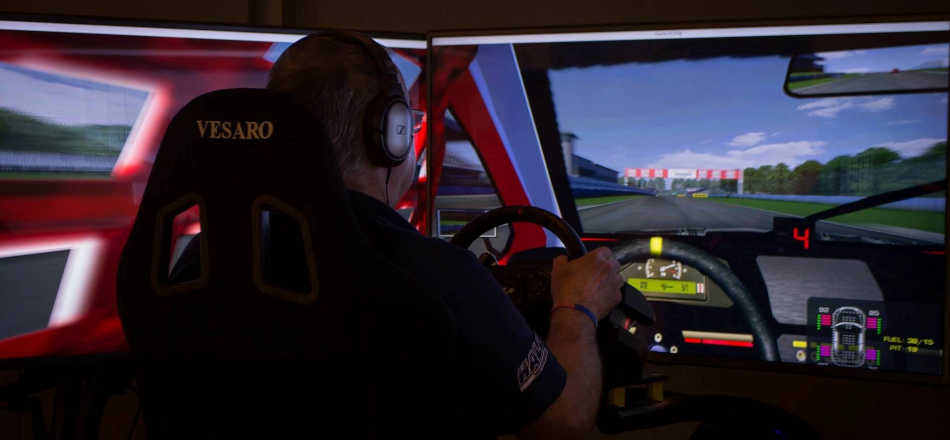 Open Championship Race Simulation Experience in Berkshire-1
