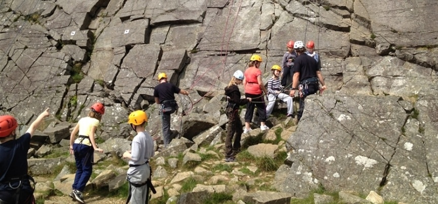 90ft Climb And Abseil Experience Llangollen-1