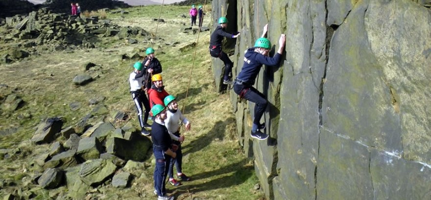 Yorkshire Rock Climbing Experience For 4-1