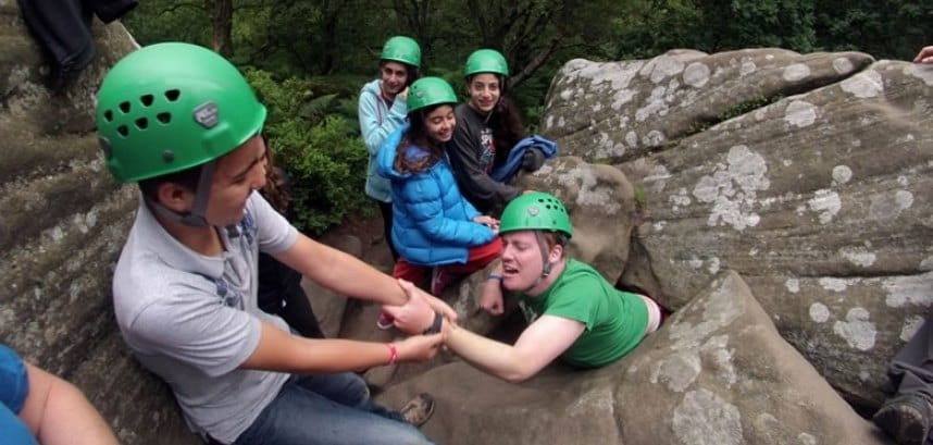 Yorkshire Rock Climbing Experience For 4-4