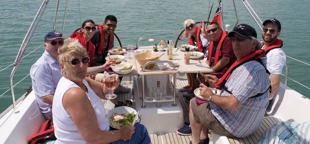 Solent Yacht Sailing Experience with Lunch-2