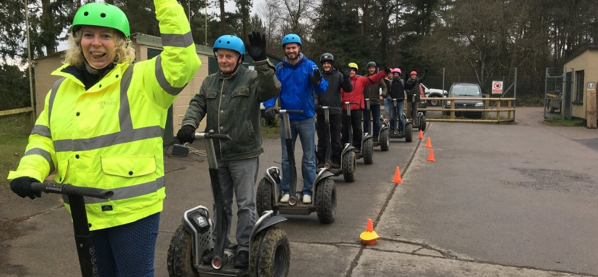 Segway Riding Experience in Devon-3