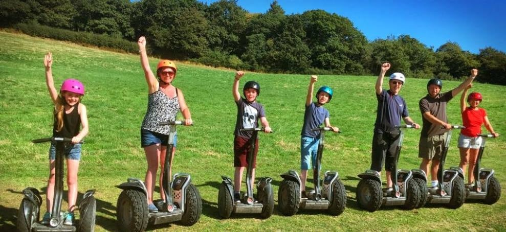 Segway Riding Experience in Devon-5