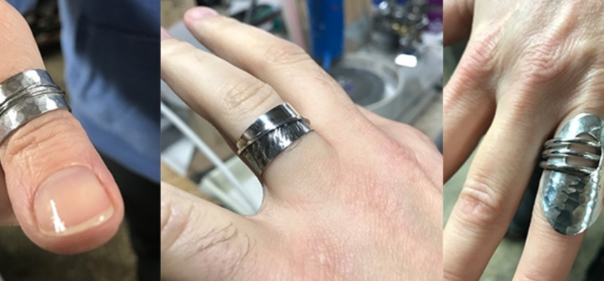 Sterling Silver Ring Workshop West Sussex