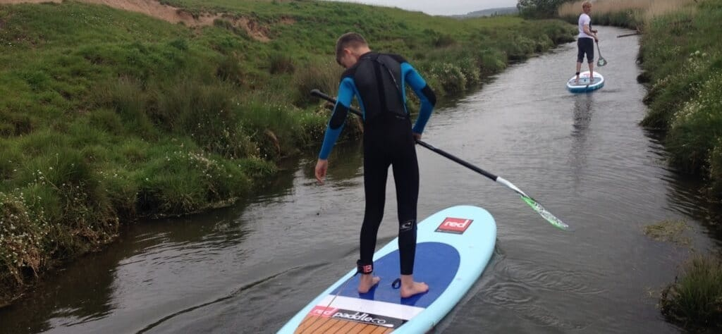 Stand Up Paddleboarding Lesson - Northumberland-2
