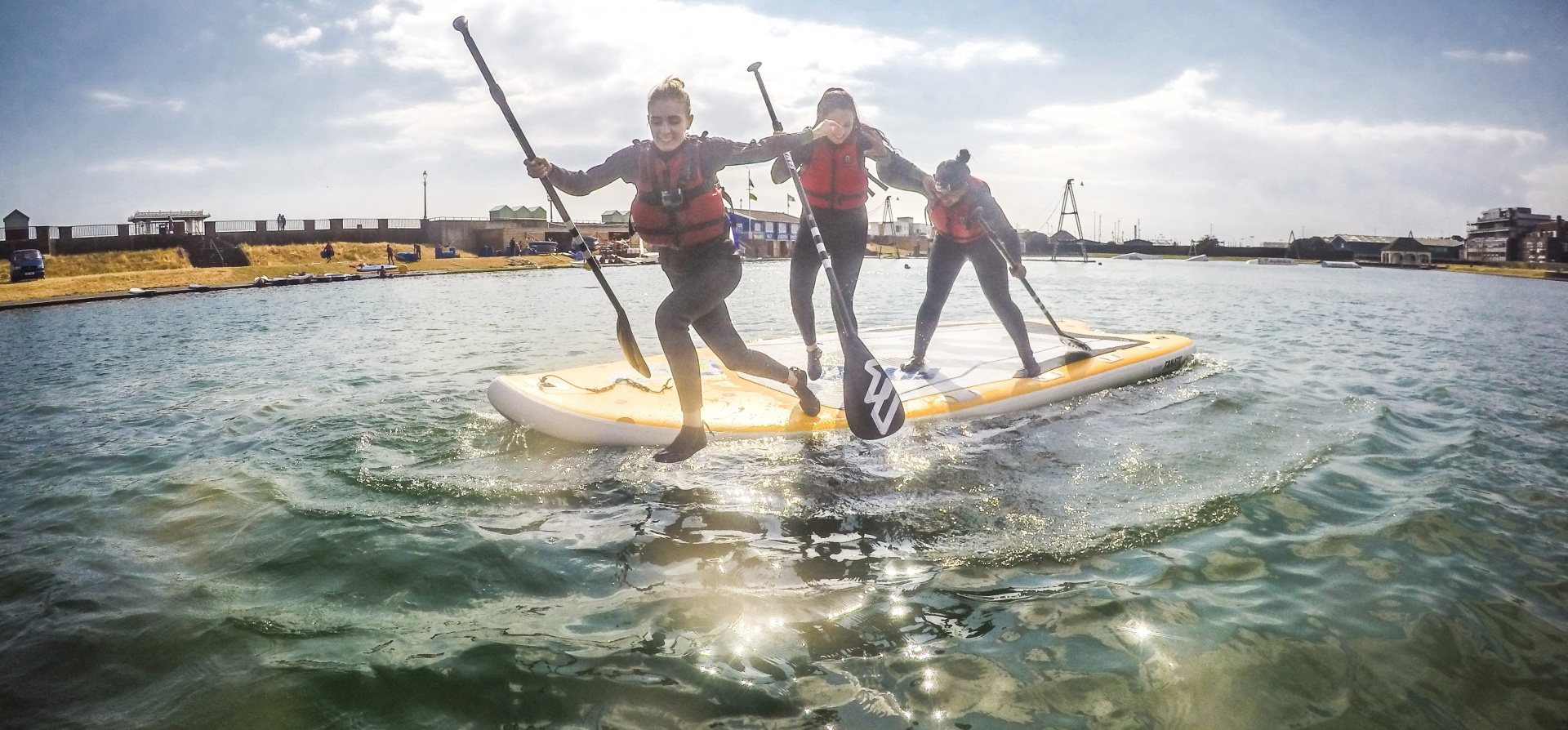 Introduction to Stand Up Paddle Boarding Brighton-4