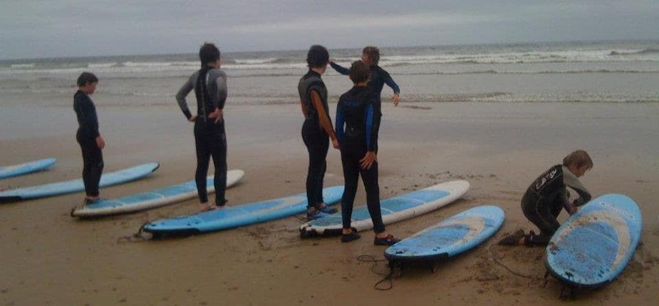 Surfing Lesson in Northumberland - 2 Hours-5
