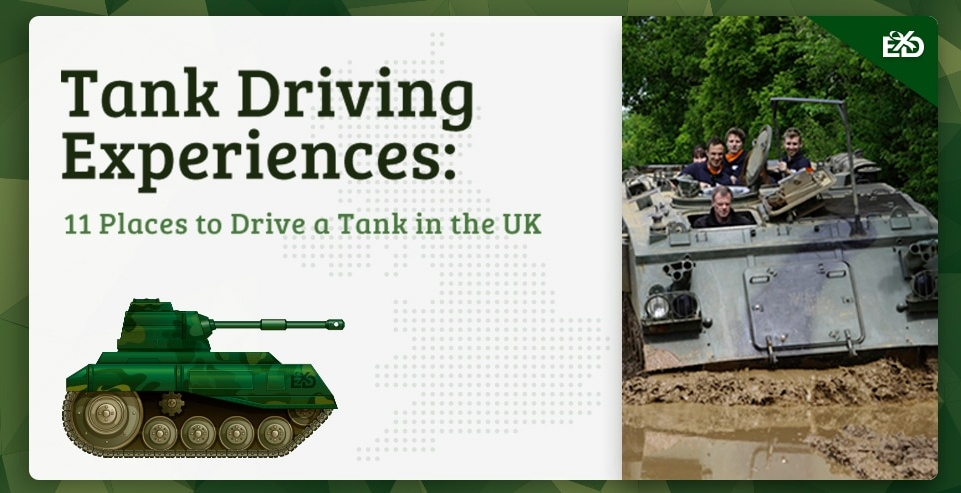 Tank Driving Experiences: 11 Places to Drive a Tank in the UK