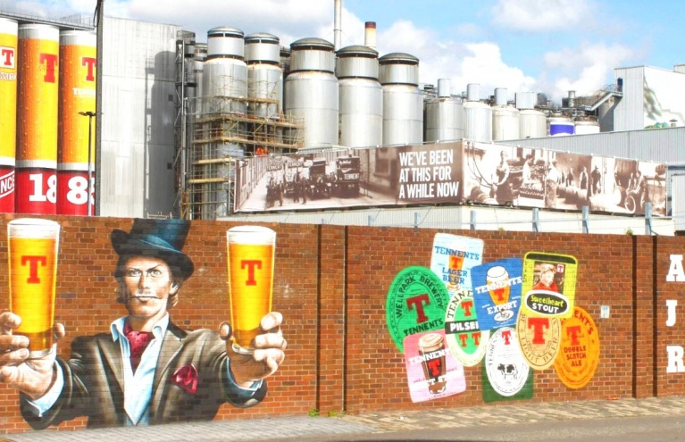 tastings experience at Tennents brewery in scotland gift for him.jpg