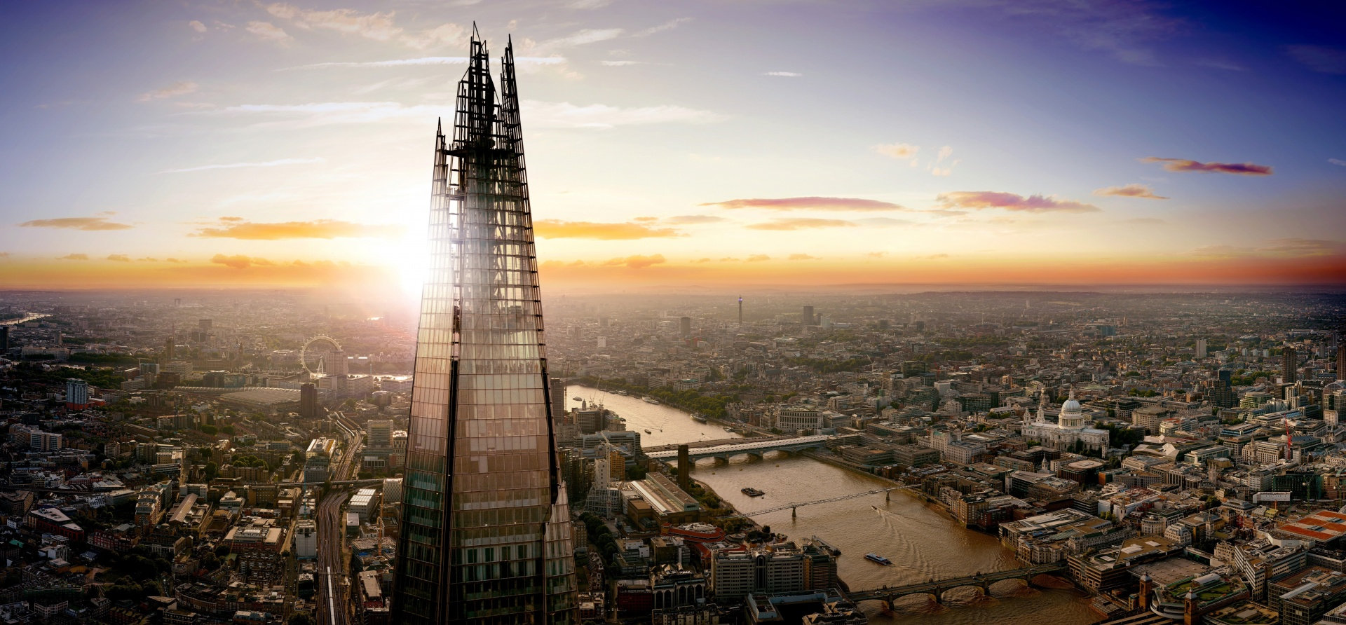 Thames Cruise And The View From The Shard DayandNight Experience For Two