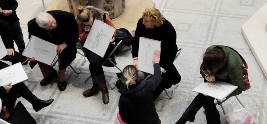 Drawing Workshop at the V&A for Adults - London-3