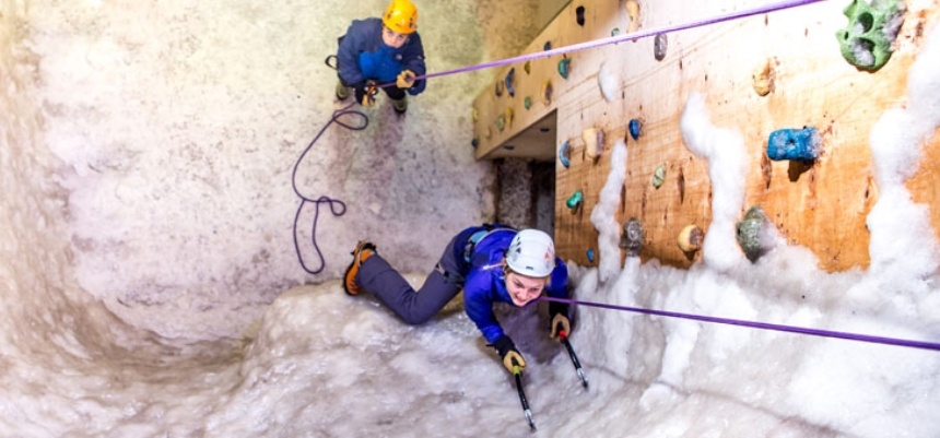 Discover Indoor Ice Climbing - Manchester-2