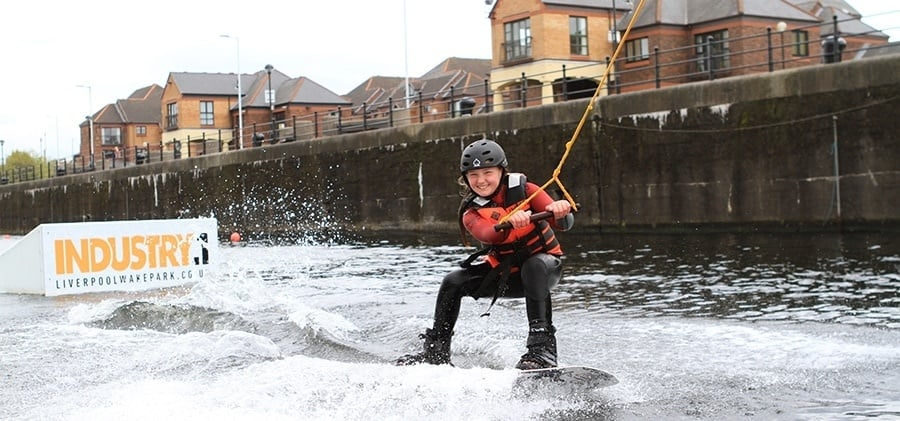 Cable Wakeboarding Experience in Liverpool Day Pass-5