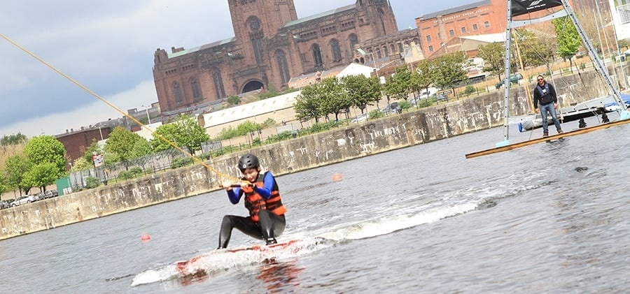 Cable Wakeboarding Experience in Liverpool Day Pass-1