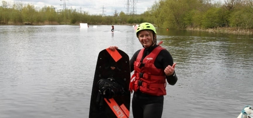Wakeboarding Party Northamptonshire - Lesson for 8-2