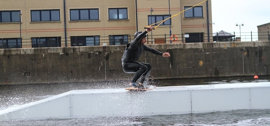 Cable Wakeboarding Experience in Liverpool Day Pass-3