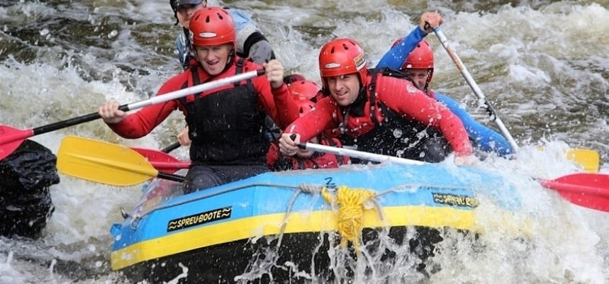 White Water Rafting Experience - Llangollen-6