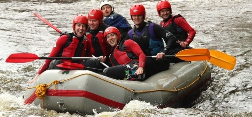 White Water Rafting Experience - Llangollen-2