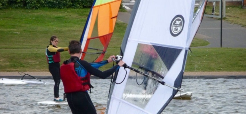 Windsurfing Introduction - Brighton-3