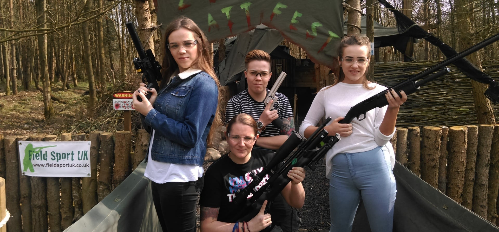 Zombie Apocalypse Shooting Experience For Two Leicester-4