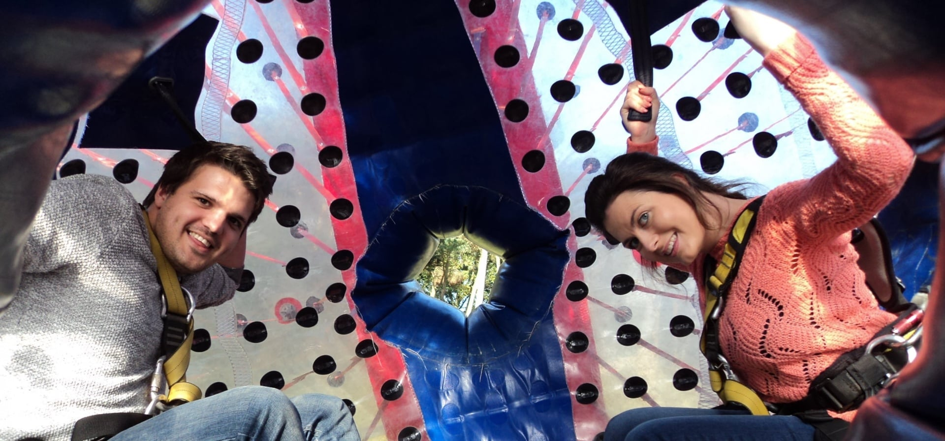 Harness Zorbing for 2 - South Manchester-3