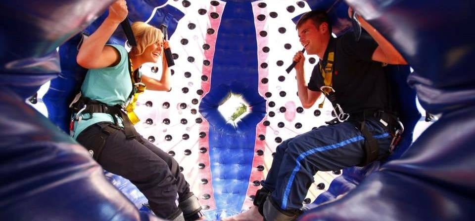 Harness Zorbing for 2 - South Manchester-1