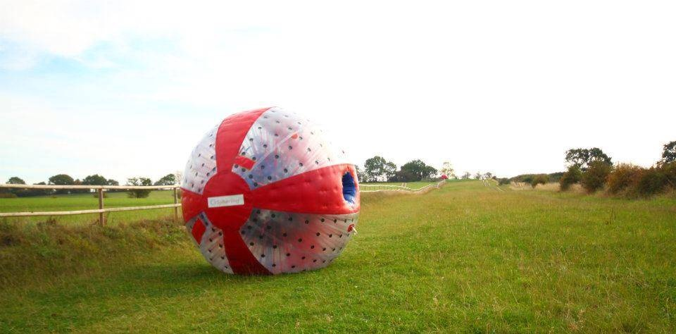 Harness Zorbing for 2 - South Manchester-4